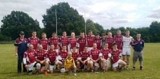 St. Colmcilles team ready to take on St. Dympnas in the Hertfordshire County Championship semi-final