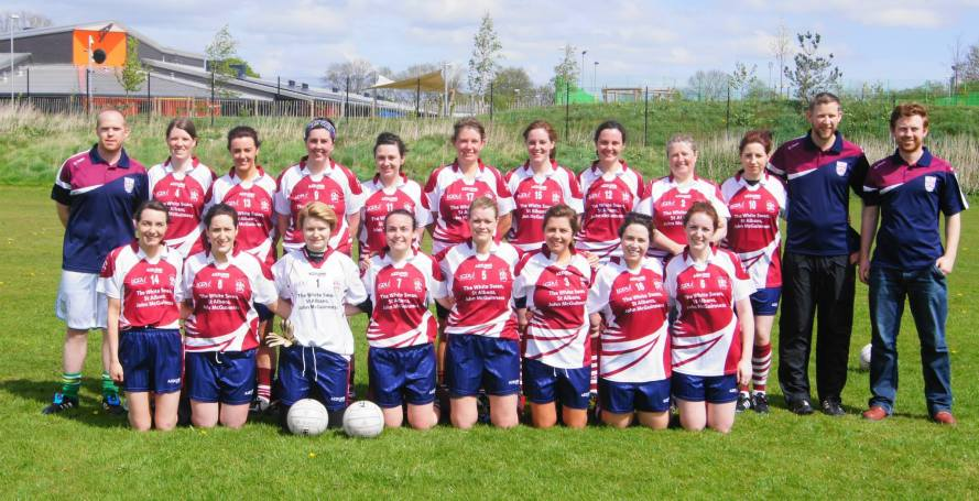 St. Colmcilles Ladies - April 2015