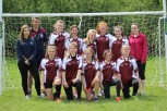 The Gaelic for Girls U14s Team after winning all 3 of their matches