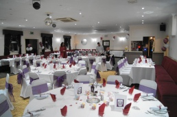 The hall looking fantastic!! The committee did a fantastic job this year.