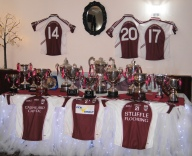 The trophy table. 14 trophies in 2017!!