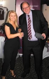 Laura Fitzpatrick wins the joint Players' Player of the Year Award.