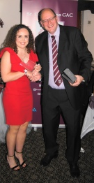 Orla Healy wins the joint Players' Player of the Year Award.