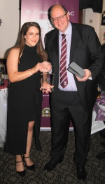 Fiona Ni Chinneidewins the Player of the Year Award.