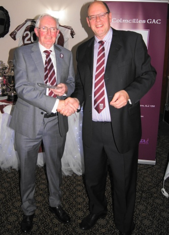 Bob Canty receives the Lifetime Achievement Award.