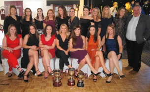 The Senior Ladies' team.